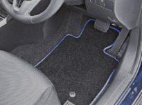 custom floor car mats piped