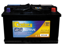 Century AGM Idle Stop Start Batteries